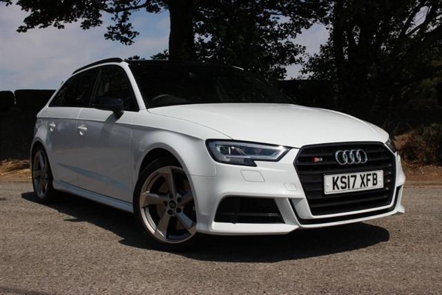 used Audi S3 Black Edition TFSI Sportback Quattro in sheffield-south-yorkshire