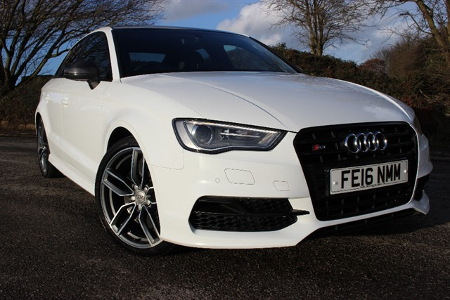 used Audi S3 Saloon Quattro Nav S-Tronic in sheffield-south-yorkshire