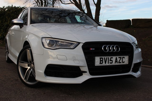 used Audi S3 Quattro Nav TFSI Saloon S-Tronic in sheffield-south-yorkshire