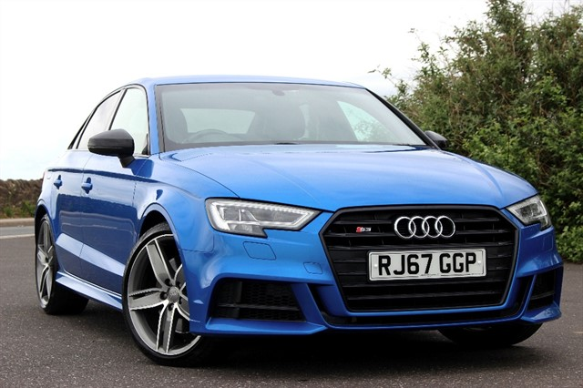 used Audi S3 Black Edition TFSI Quattro Saloon Auto in sheffield-south-yorkshire
