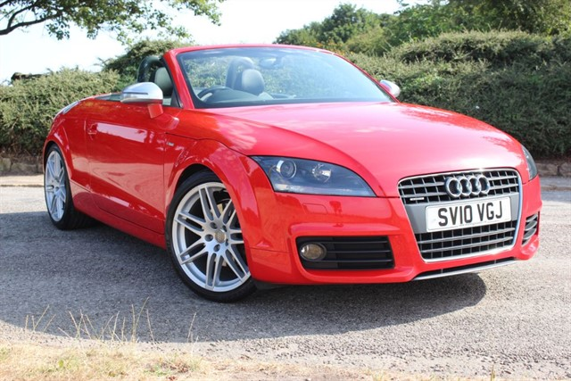 used Audi TT S Line Special Edition TDI Quattro in sheffield-south-yorkshire