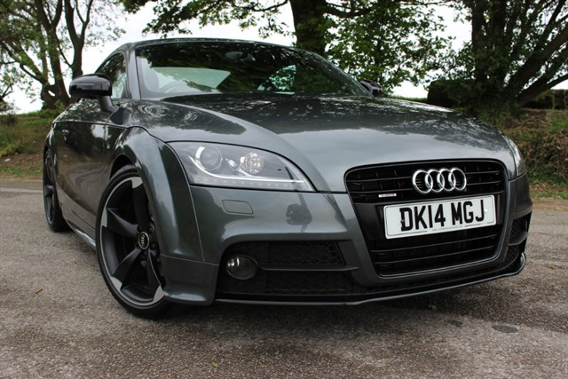 used Audi TT S Line Black Edition 'Amplified' TDI Quattro in sheffield-south-yorkshire