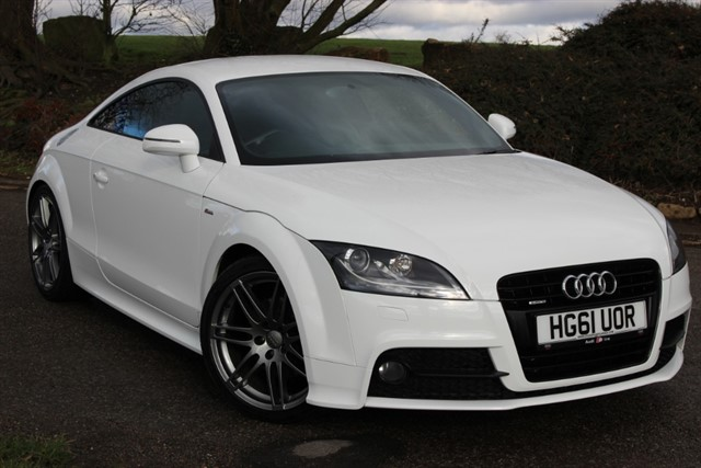 used Audi TT S-Line Black Edition TDI Quattro in sheffield-south-yorkshire