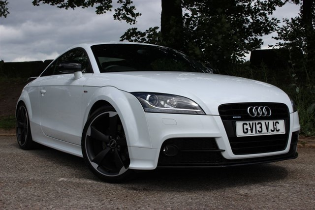 used Audi TT S Line Black Edition Amplified TDI Quattro in sheffield-south-yorkshire