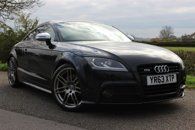 used Audi TTS TFSI Black Edition Quattro in sheffield-south-yorkshire