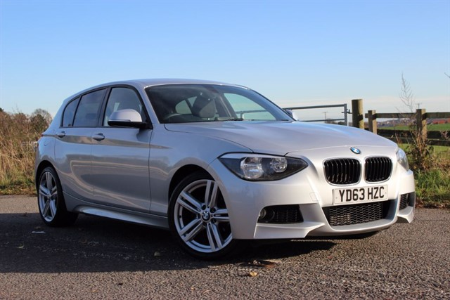 used BMW 118d M Sport - Sat Nav in sheffield-south-yorkshire