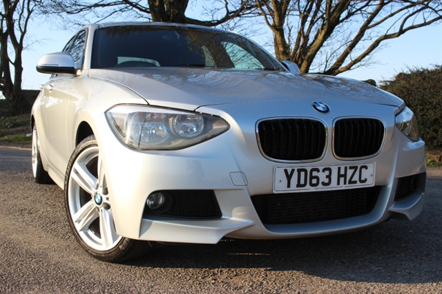 used BMW 118d M Sport Auto - Sat Nav in sheffield-south-yorkshire