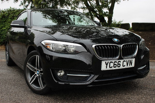 used BMW 218d Sport - Sat Nav in sheffield-south-yorkshire