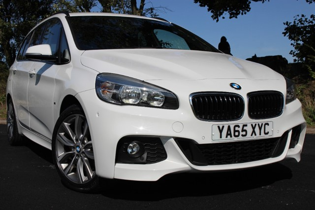 used BMW 220d M Sport Gran Tourer xDrive Auto in sheffield-south-yorkshire