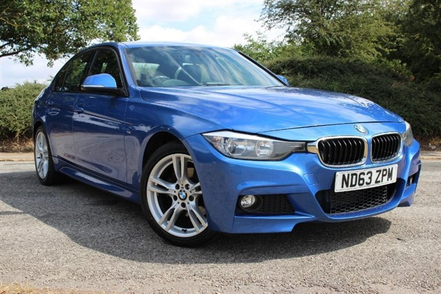 used BMW 320d M Sport xDrive Auto in sheffield-south-yorkshire