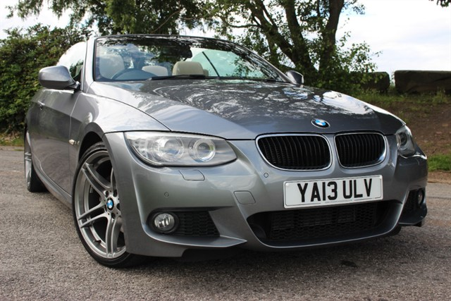 used BMW 320d M Sport Convertible Auto in sheffield-south-yorkshire