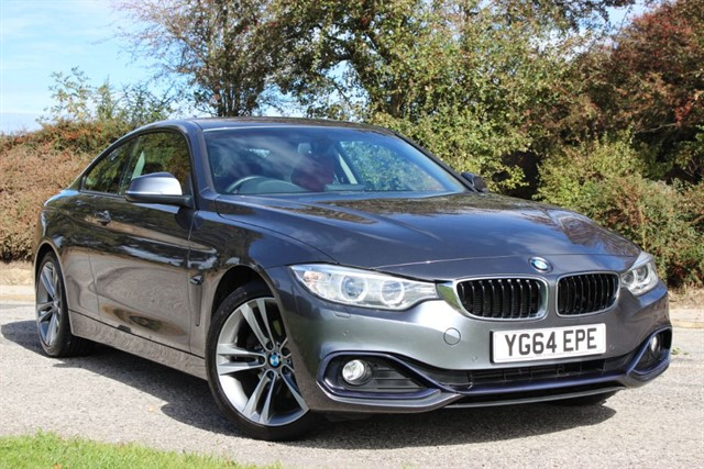 used BMW 420d Sport - Pro Nav in sheffield-south-yorkshire