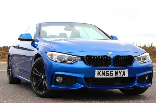 used BMW 420d M Sport Convertible Auto in sheffield-south-yorkshire