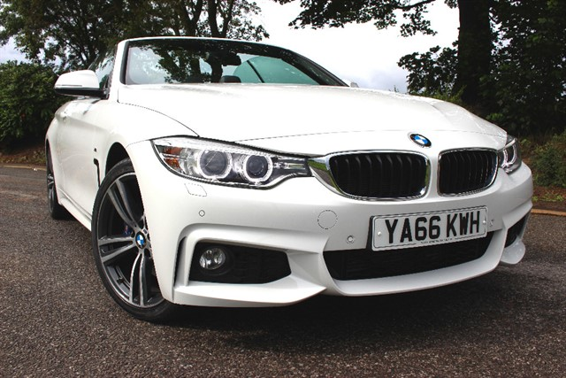 used BMW 420d M Sport Convertible in sheffield-south-yorkshire