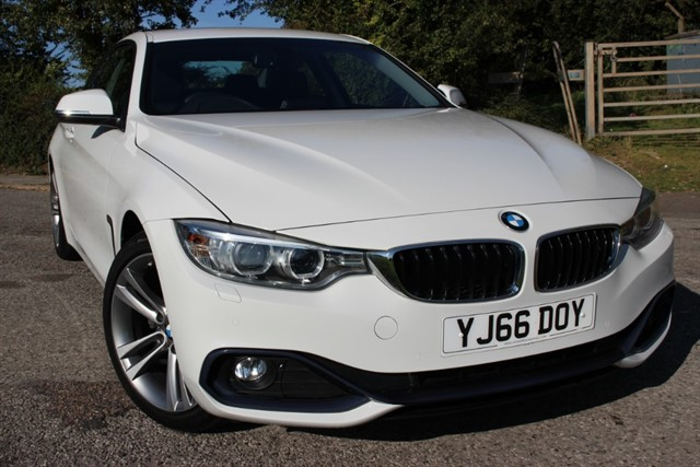used BMW 420d Sport Auto - Sat Nav in sheffield-south-yorkshire