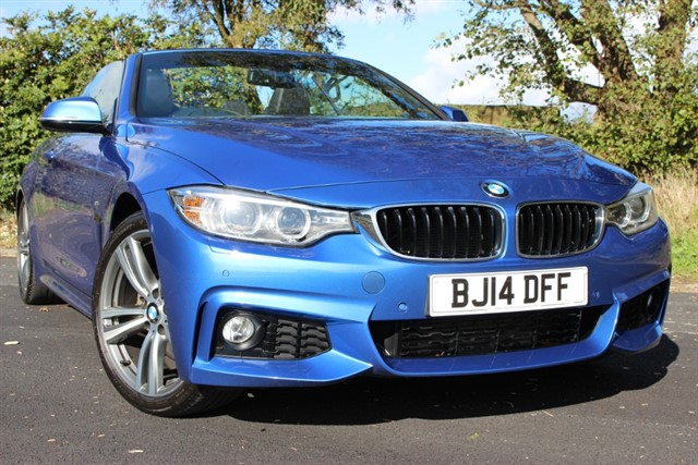 used BMW 428i M Sport Convertible Auto in sheffield-south-yorkshire