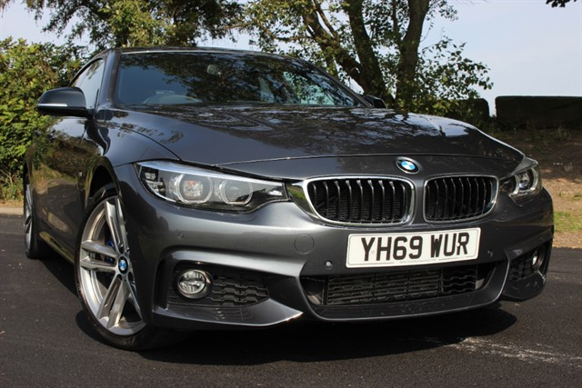 used BMW 430d M Sport Gran Coupe Auto in sheffield-south-yorkshire
