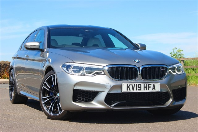 used BMW M5 4.4 V8 xDrive Auto in sheffield-south-yorkshire