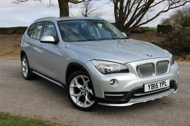 used BMW X1 xDrive18D X-Line Auto in sheffield-south-yorkshire
