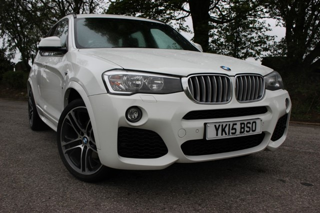used BMW X3 xDrive35d M Sport Auto in sheffield-south-yorkshire