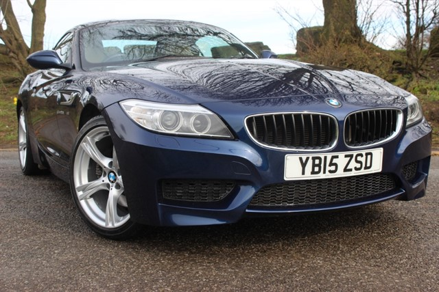 used BMW Z4 sDrive28i M Sport Roadster Auto in sheffield-south-yorkshire