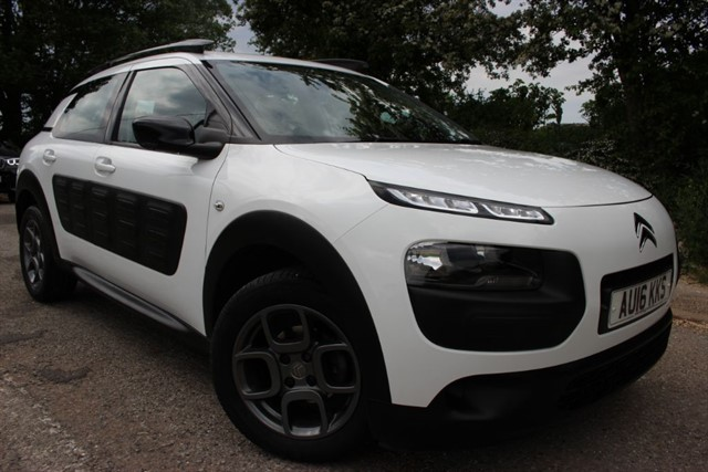 used Citroen C4 Cactus Feel Blue-HDI in sheffield-south-yorkshire