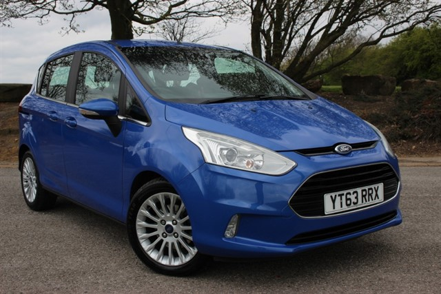 used Ford B-Max Titanium Auto in sheffield-south-yorkshire