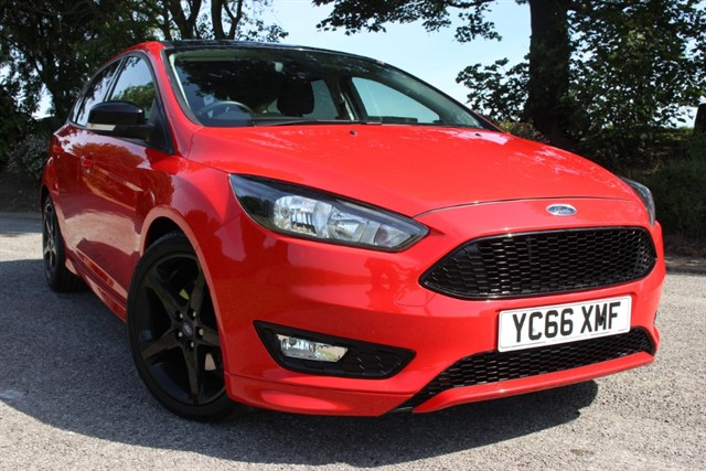 used Ford Focus Zetec S Red Edition TDCI in sheffield-south-yorkshire