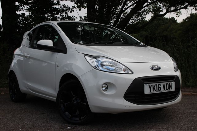 used Ford KA Zetec White Edition in sheffield-south-yorkshire