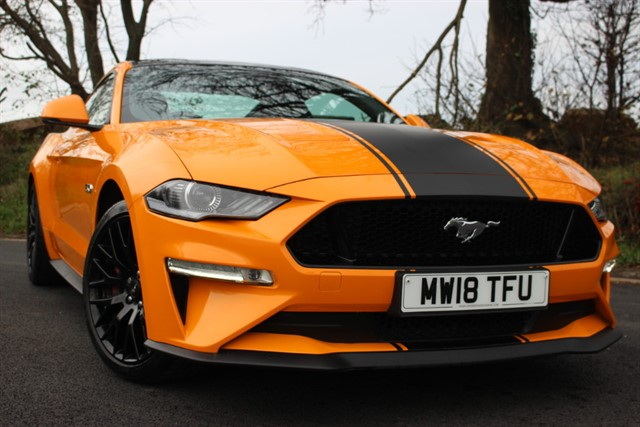 used Ford Mustang GT 201 'Custom Pack 2' - Auto in sheffield-south-yorkshire