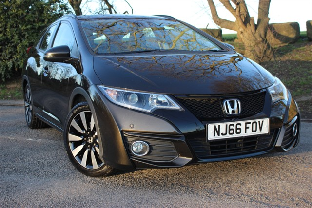 used Honda Civic SE Plus I-VTEC Tourer Auto in sheffield-south-yorkshire