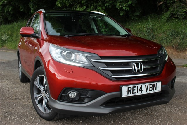 used Honda CR-V EX i-VTEC Auto 4x4 in sheffield-south-yorkshire