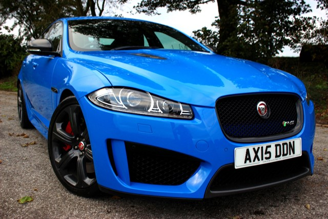 used Jaguar XF R-S V8 - Carbon Pack in sheffield-south-yorkshire