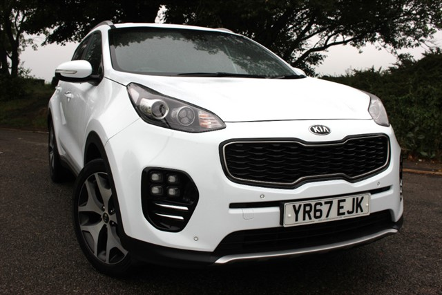 used Kia Sportage GT-Line T-GDi 4x4 Auto in sheffield-south-yorkshire