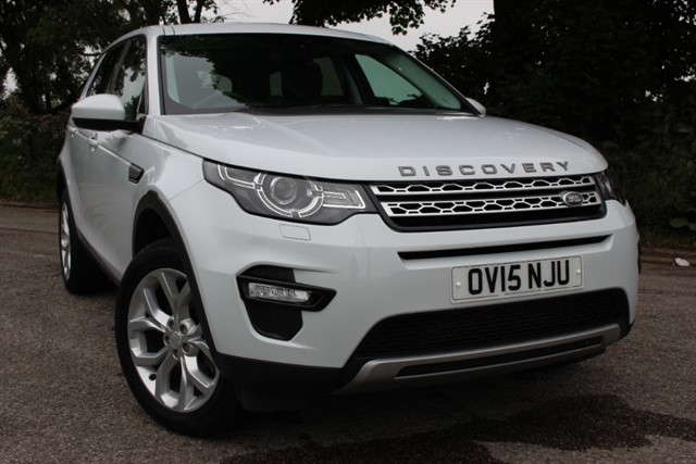 used Land Rover Discovery Sport SD4 HSE Auto in sheffield-south-yorkshire