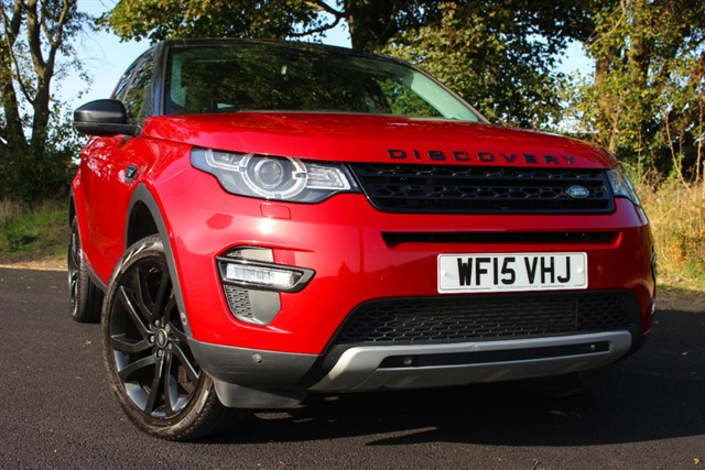 used Land Rover Discovery Sport SD4 HSE Luxury Auto in sheffield-south-yorkshire