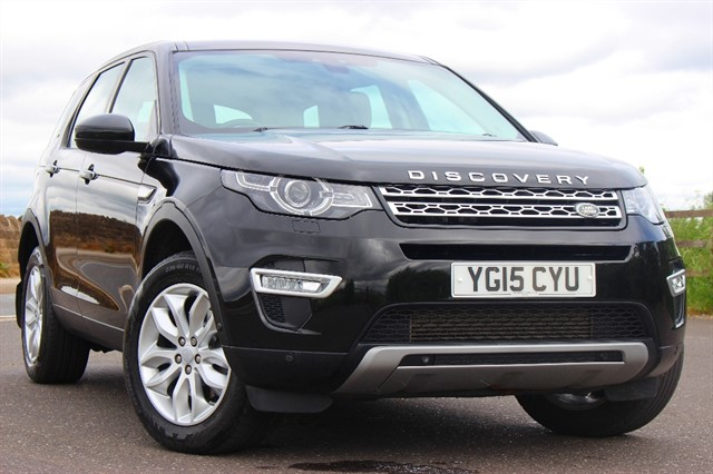 used Land Rover Discovery Sport SD4 HSE Luxury Auto - 7 Seater in sheffield-south-yorkshire