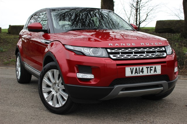 used Land Rover Range Rover Evoque SD4 Prestige Auto - 9 Speed in sheffield-south-yorkshire