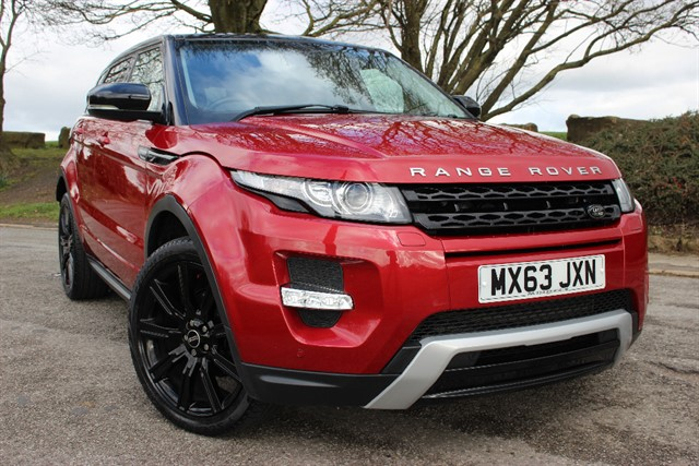 used Land Rover Range Rover Evoque SD4 Dynamic Auto in sheffield-south-yorkshire