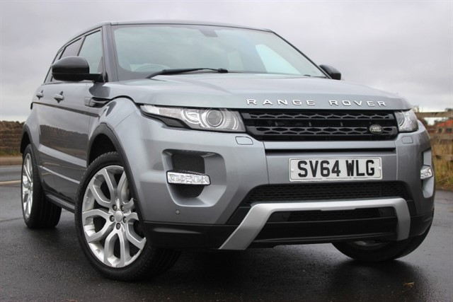 used Land Rover Range Rover Evoque SD4 Dynamic - 9 Speed Auto in sheffield-south-yorkshire