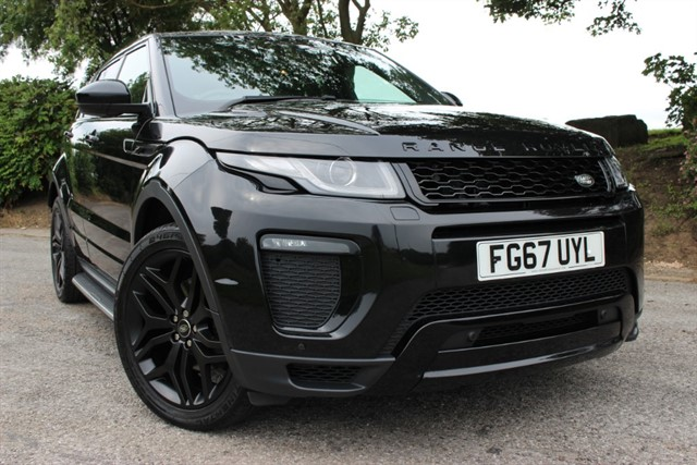 used Land Rover Range Rover Evoque HSE Dynamic TD4 in sheffield-south-yorkshire