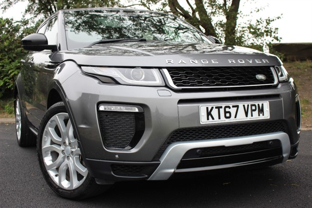 used Land Rover Range Rover Evoque SD4 HSE Dynamic 240 Auto in sheffield-south-yorkshire