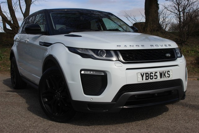 used Land Rover Range Rover Evoque TD4 HSE Dynamic Auto in sheffield-south-yorkshire