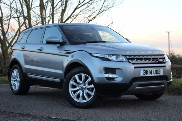 used Land Rover Range Rover Evoque SD4 Pure Tech in sheffield-south-yorkshire