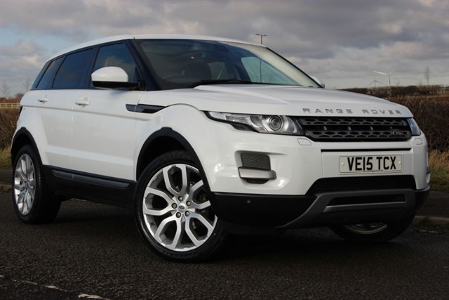 used Land Rover Range Rover Evoque SD4 Pure Tech - 9 Speed in sheffield-south-yorkshire