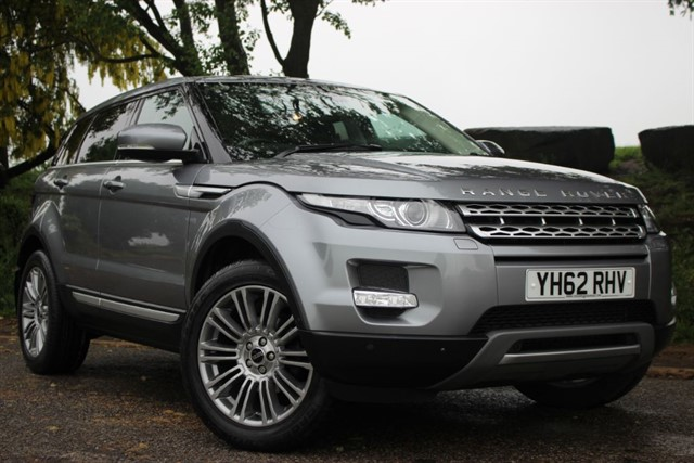 used Land Rover Range Rover Evoque SD4 Prestige Lux in sheffield-south-yorkshire