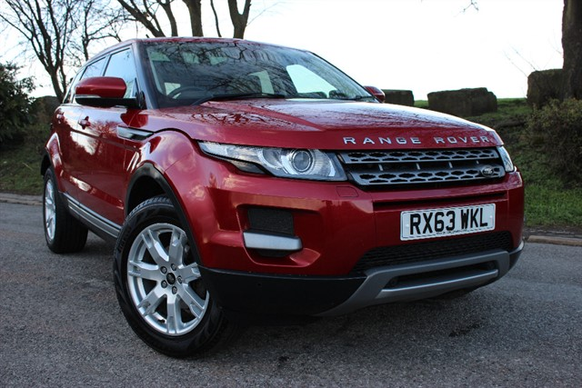 used Land Rover Range Rover Evoque SD4 Pure Tech Auto in sheffield-south-yorkshire