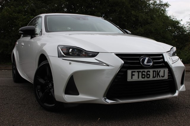 used Lexus IS 300h Sport Auto in sheffield-south-yorkshire