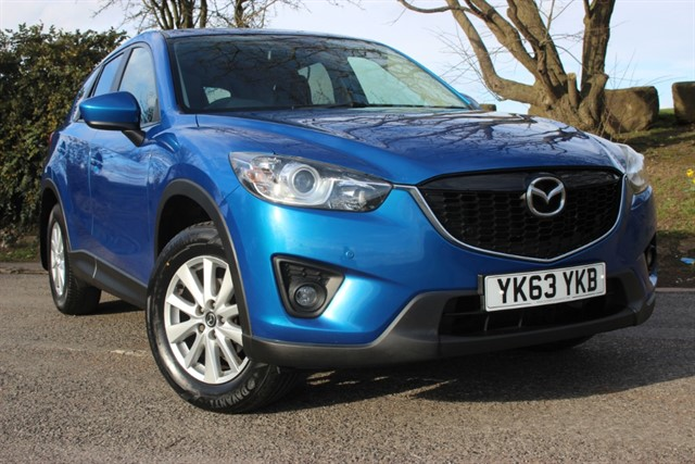 used Mazda CX-5 SE-L Nav SkyActiv-G in sheffield-south-yorkshire