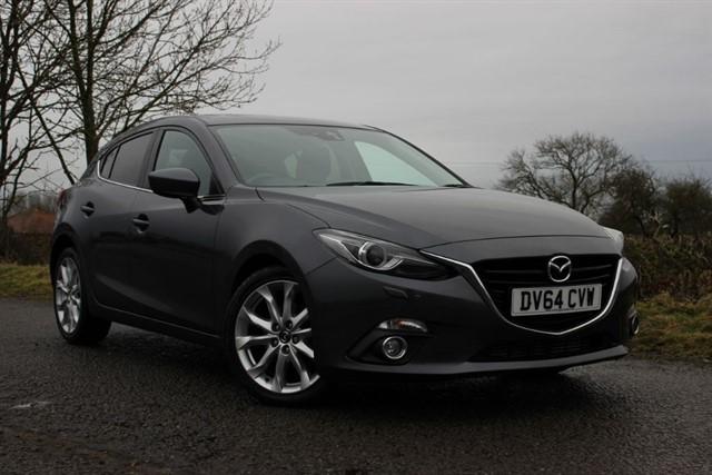 used Mazda Mazda3 Sport Nav SkyActiv-D in sheffield-south-yorkshire